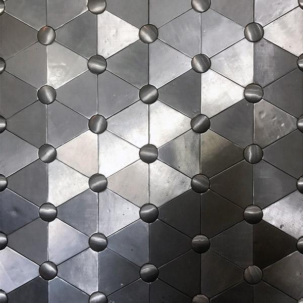 Mosaicos de aluminio